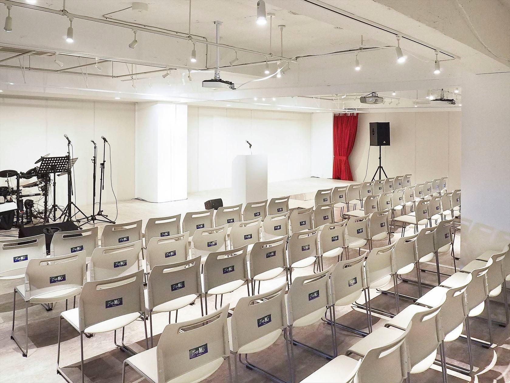 【JR根岸駅徒歩1分】[M6ABCD]ホール・スタジオ・スペースでLIVE・会議・展示会できます!