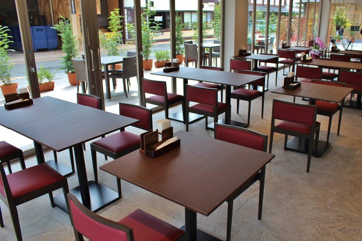 オープン間もない嵐山のイタリアンレストランをフリースペースにしてパーティーはいかが? の写真