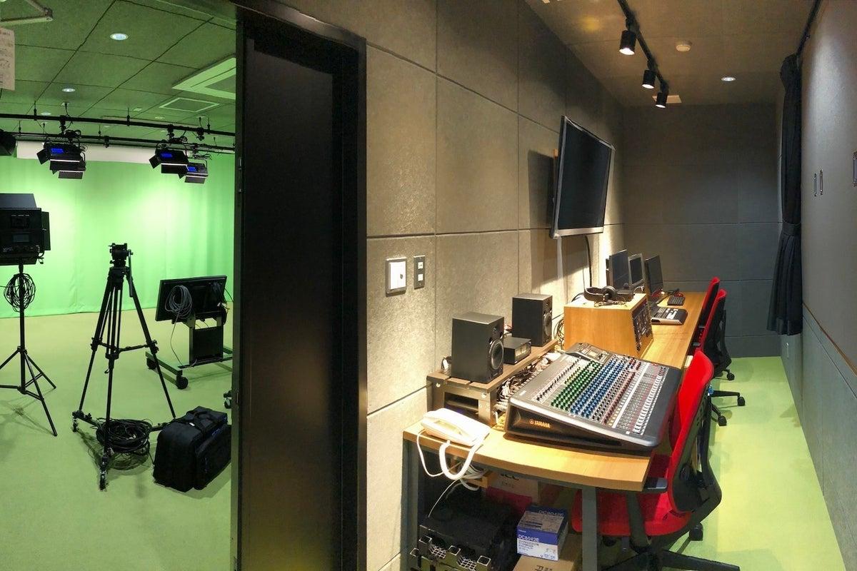 動画と写真が撮影できる、クロマキ―も可能なレンタルスタジオです。 の写真