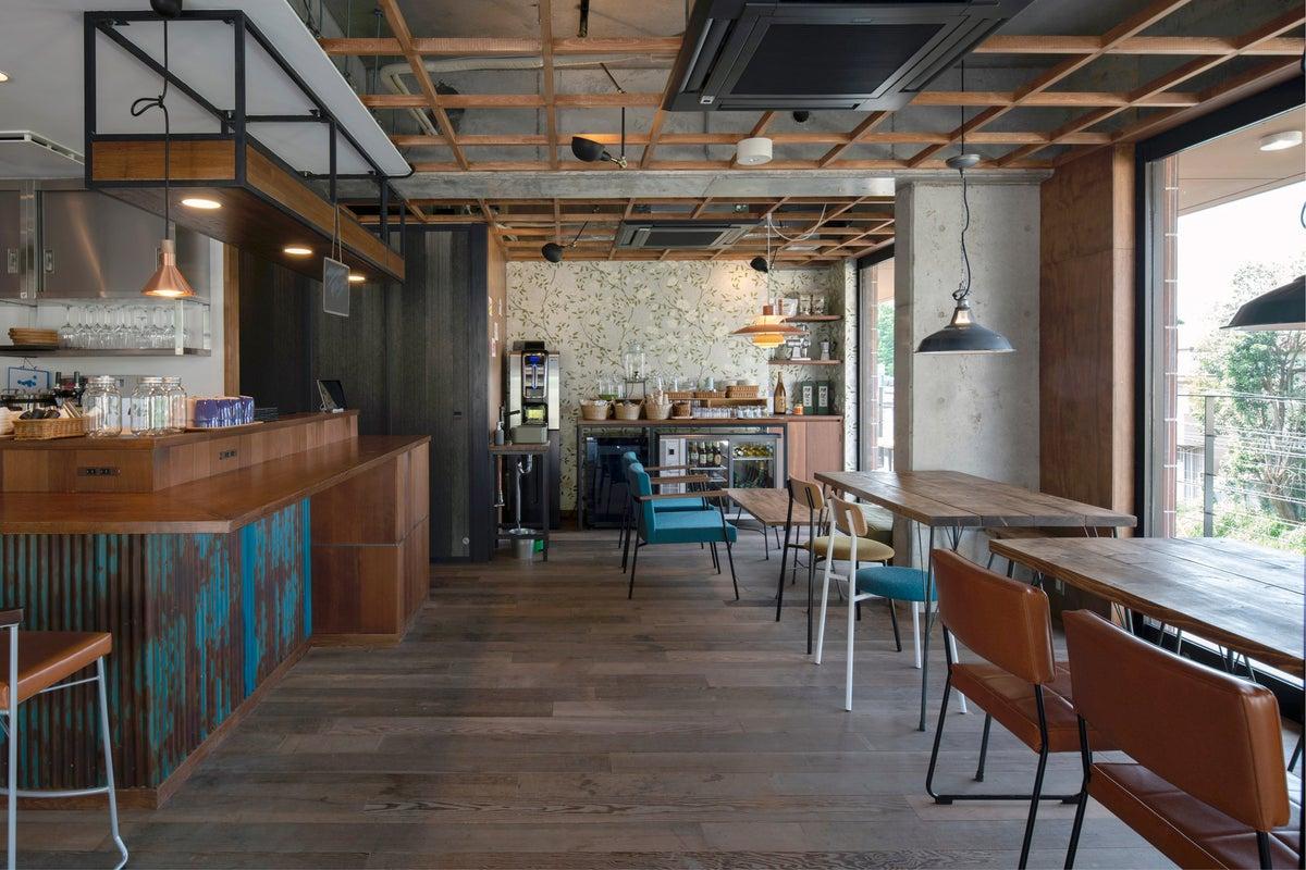 アットホームなカフェスペース の写真