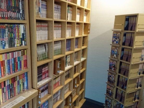 蔵書3,800冊以上のコミックコーナーです。2Fと3Fにございます。