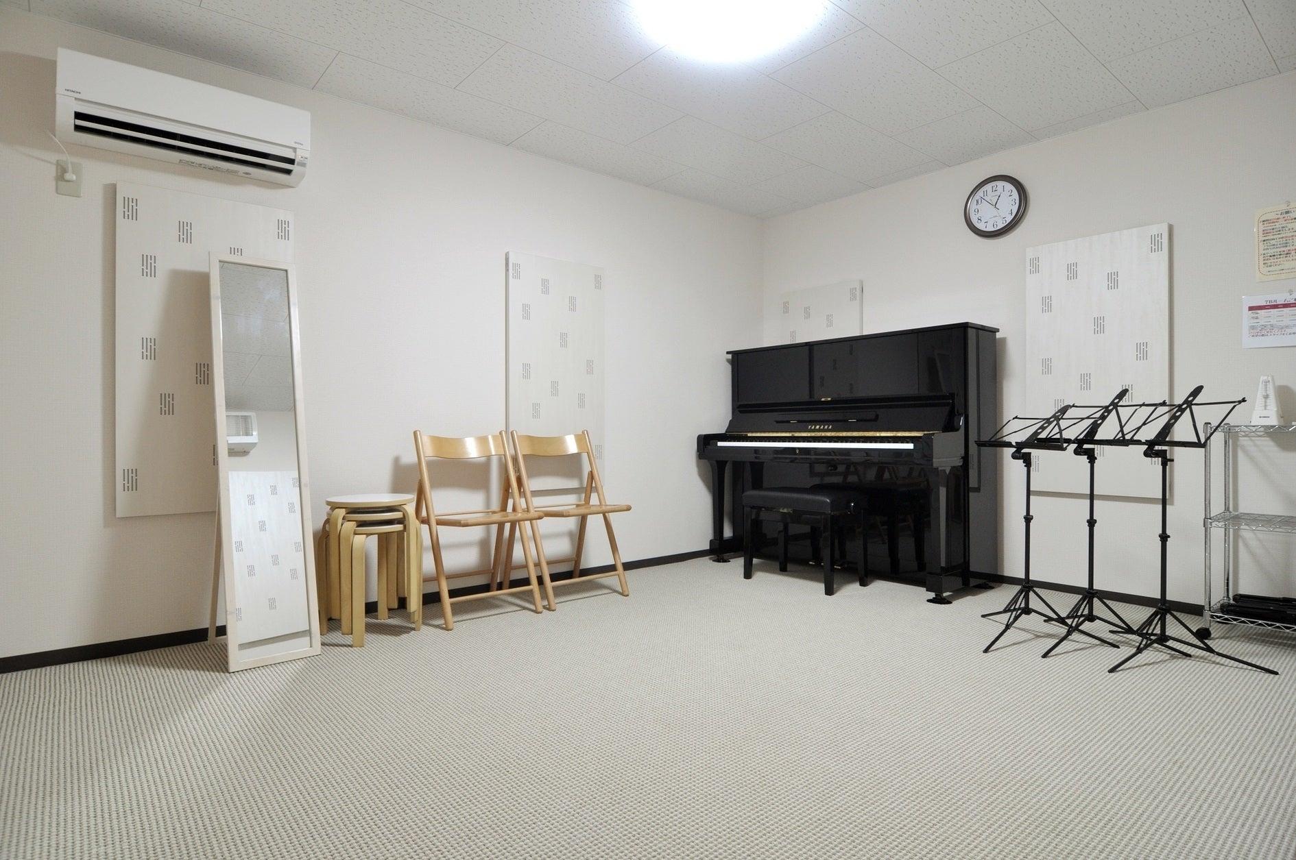 アコースティック楽器専用スタジオ。アップライトピアノ常設。(アコースティック楽器専用スタジオ。アップライトピアノ常設。) の写真0