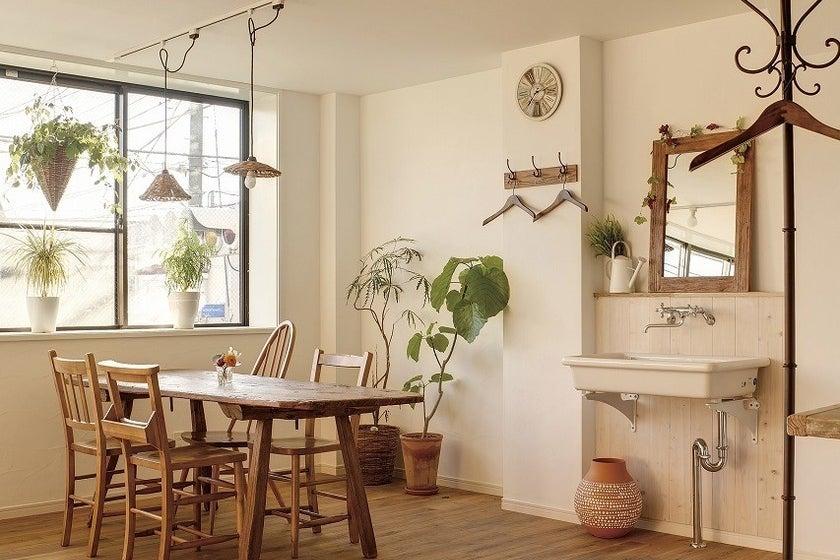 カフェ風スペースキッチン利用可。お教室や写真撮影、女性向けイベントなどに。 の写真