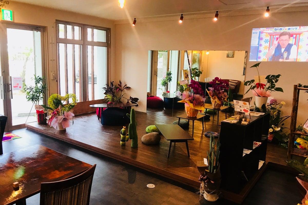 【南城市大里】利便性の良いオシャレカフェ空間。カフェ営業中のコラボワークショップも実施しています♪ の写真