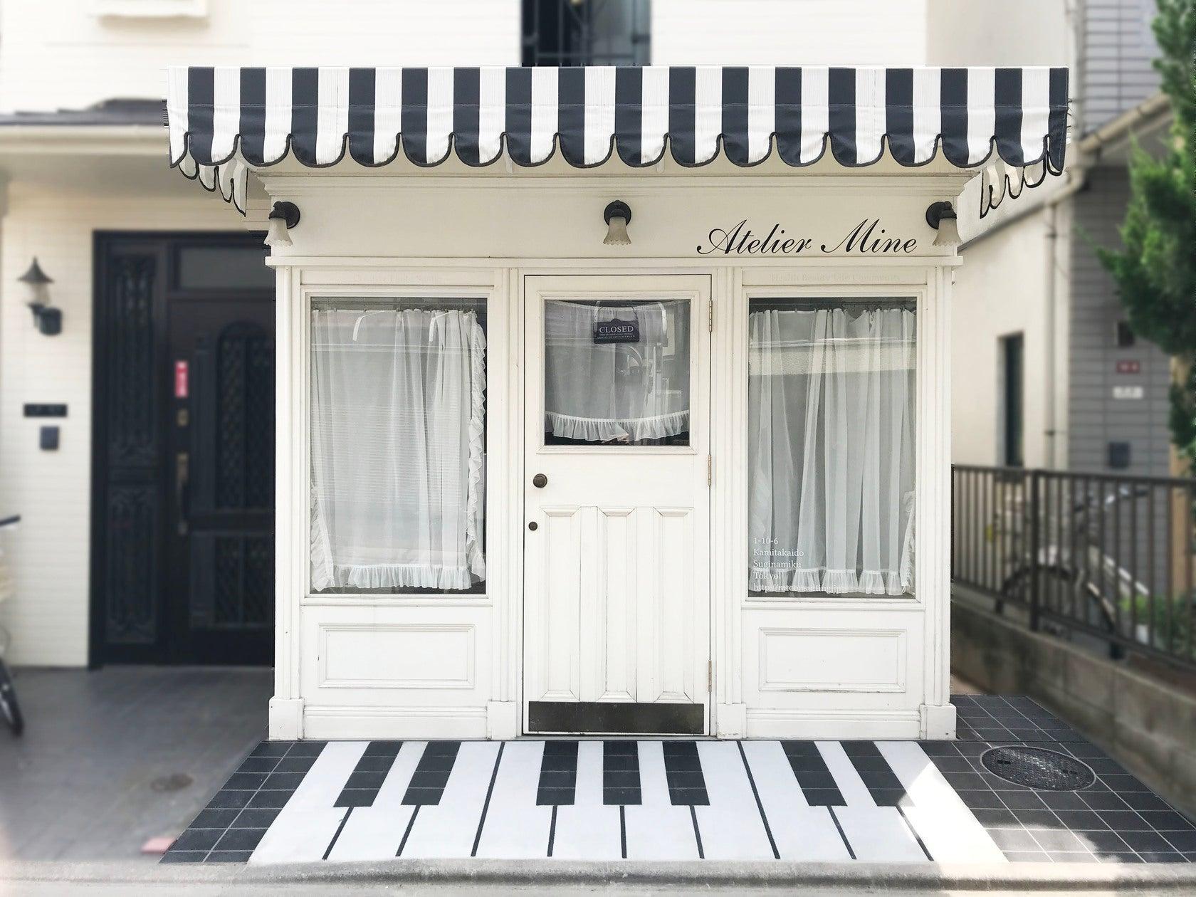白いアンティークフレンチ風大人かわいい女性向けのスペース(Atelier Mine (アトリエマイン)) の写真0