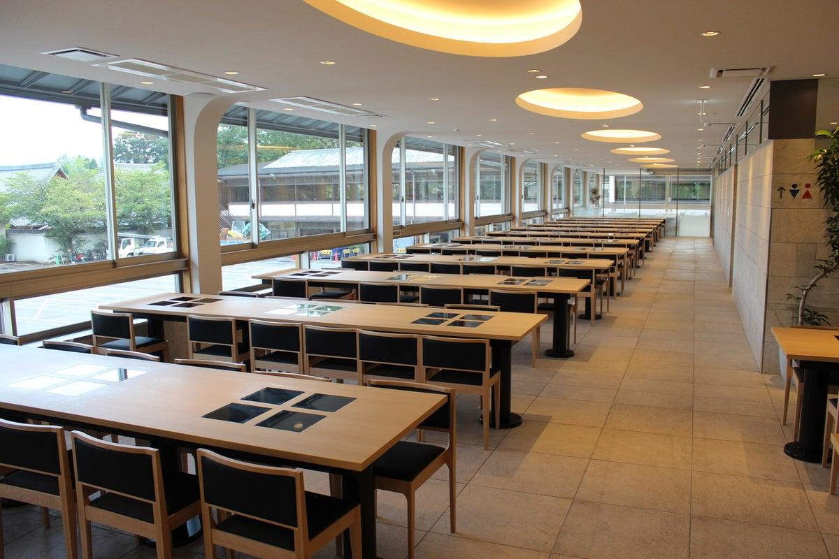 【京都・嵐山渡月橋が目の前!】会議に、パーティーに!大ホールスペース貸しプラン【164名収容】 の写真
