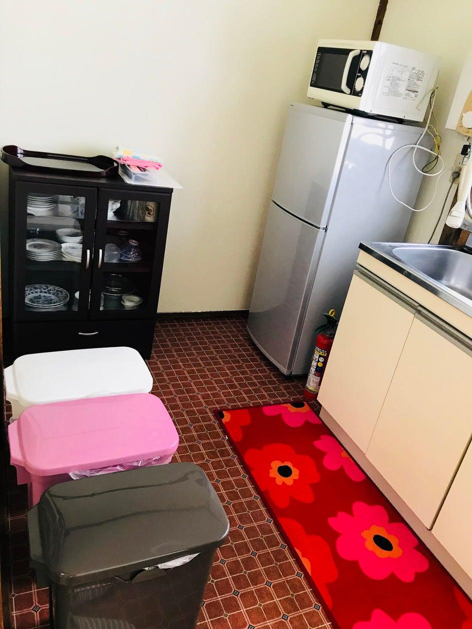 台所用品も揃ってます。