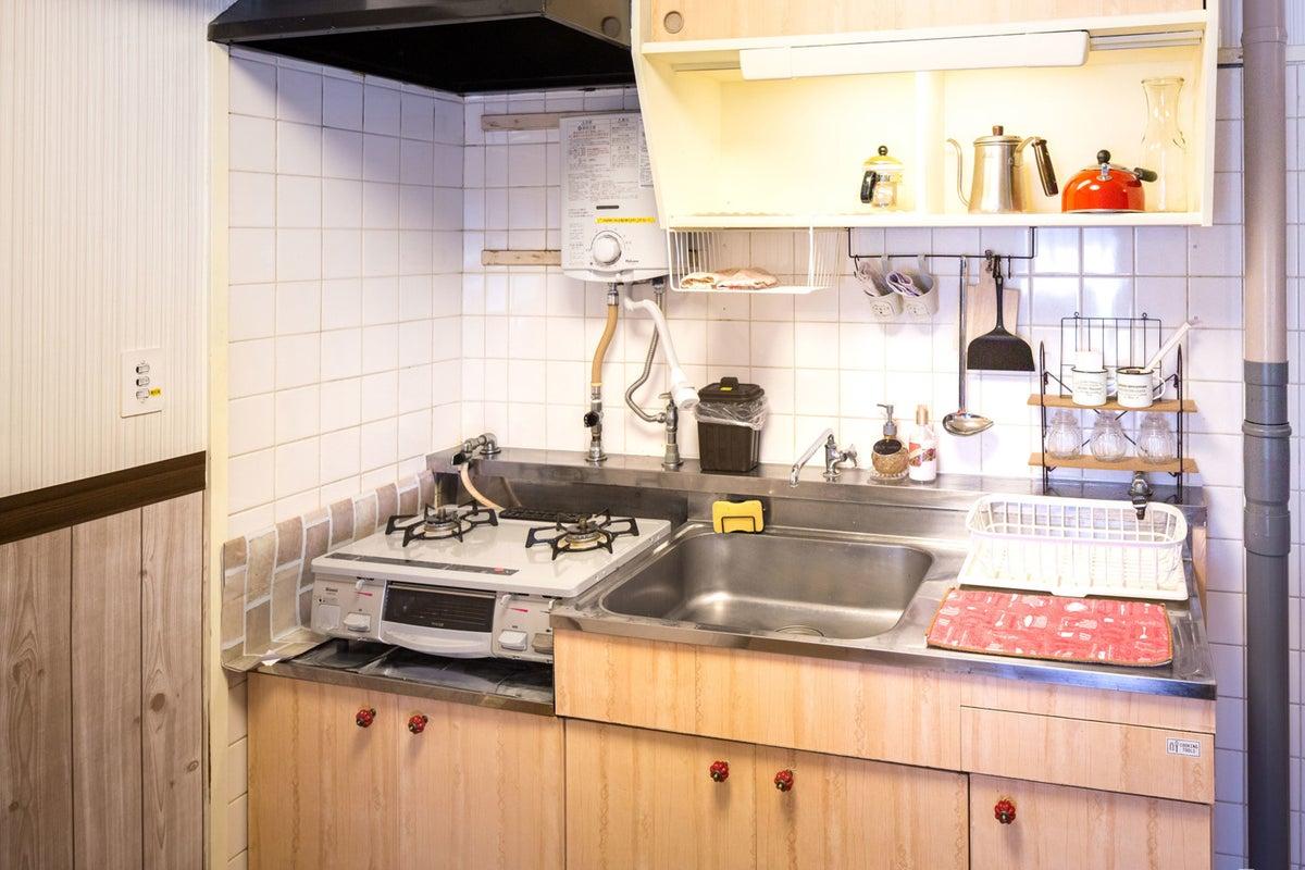 《カップル・コスプレ撮影の方に大人気!》名古屋市のキッチン・無料駐車場付きレンタルスペース【メゾンドゥルーム】 の写真