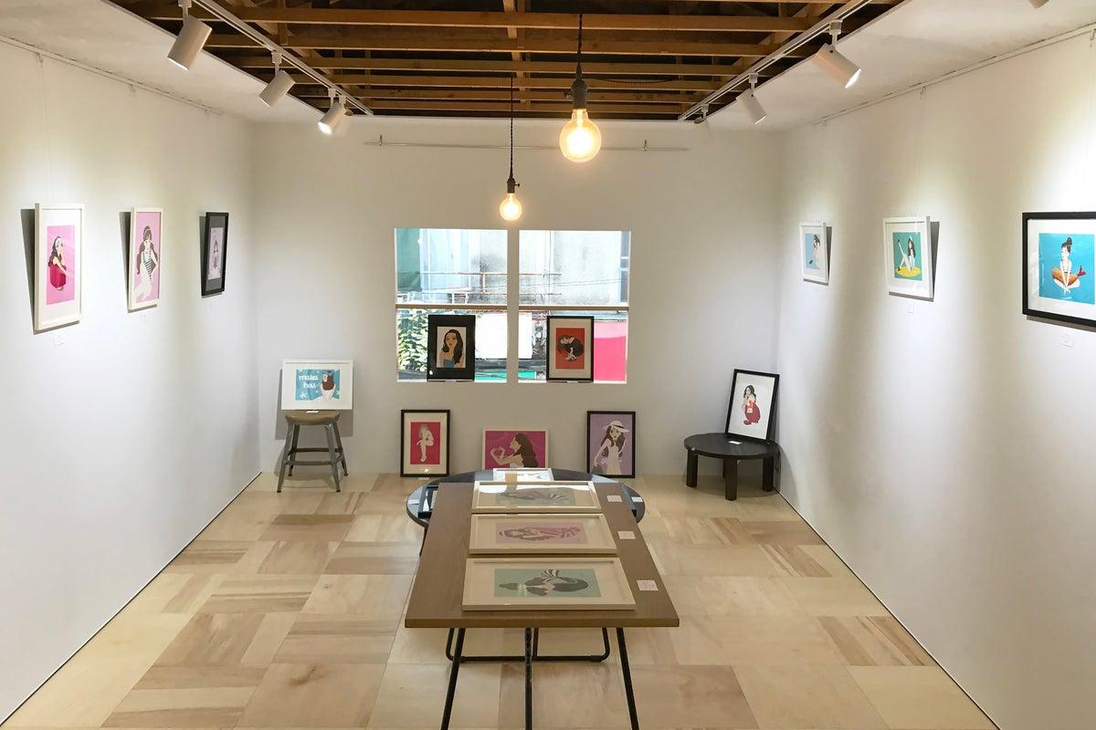 ギャラリー、シアターなど使い方はいろいろ、お座敷空間。 の写真