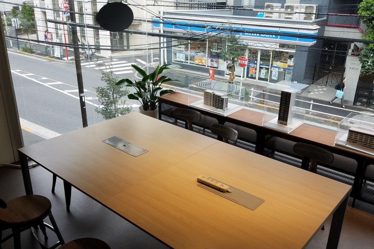 カフェ併設のレンタルスペース!ワークショップ・ミーティングなどにご利用ください! の写真