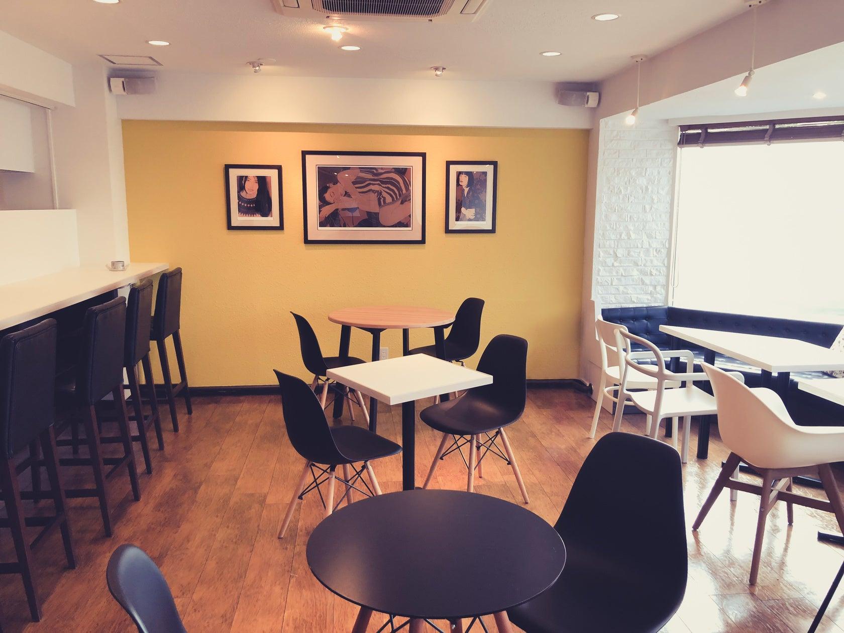 【六本木駅から4分】Wi-Fi完備のカフェを貸切で使おう♪勉強、会議、セミナー、撮影など使い方色々!