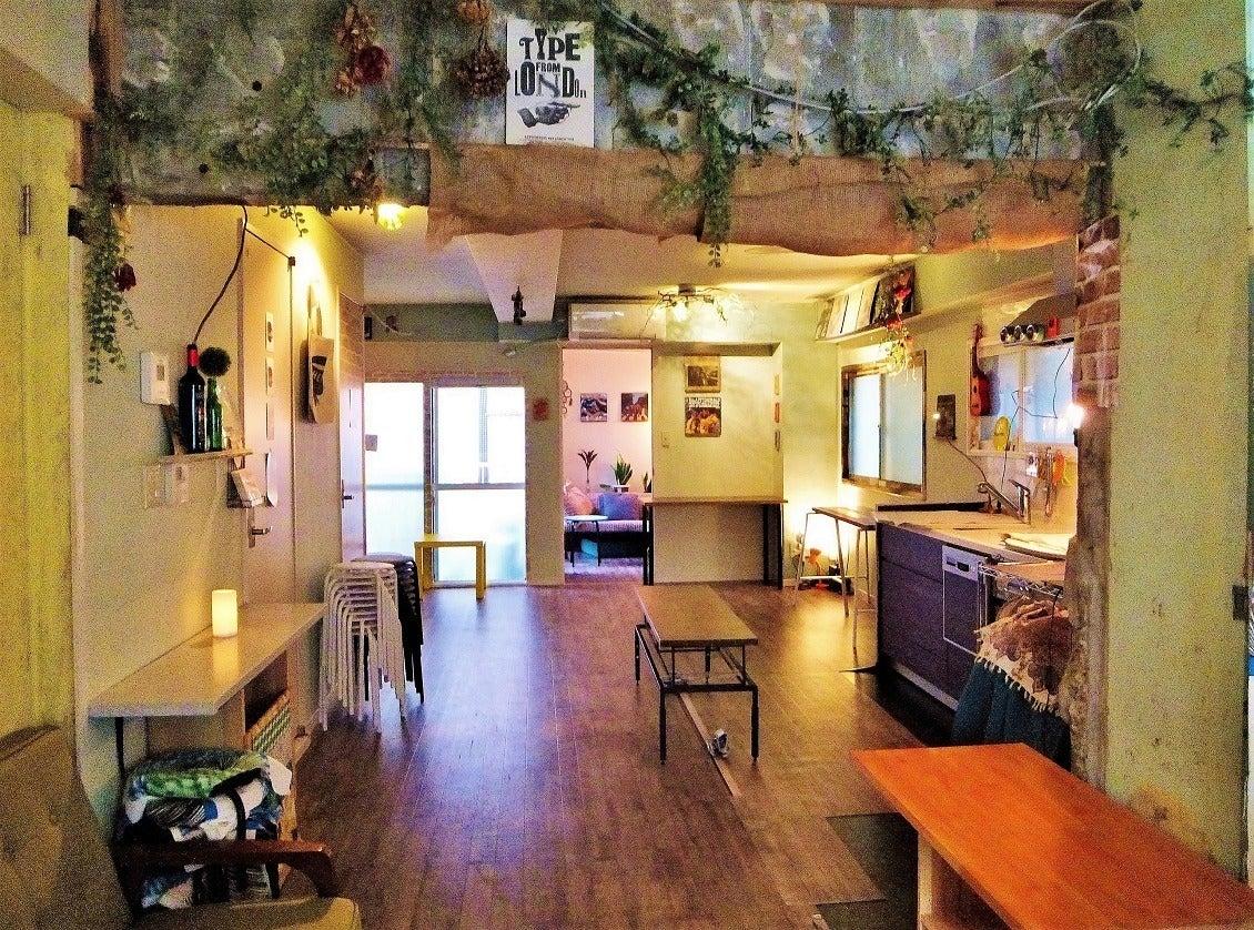福岡天神から徒歩圏内、最大40名収容、ソファでゆったりお洒落レンタルスペース「タロカリ」 の写真