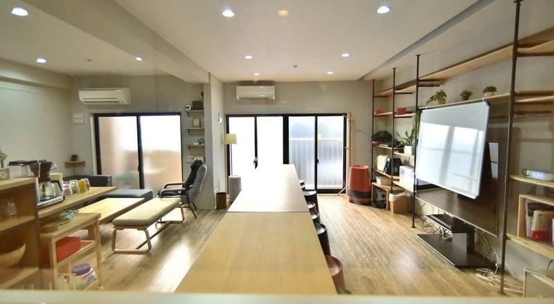 堀江レンタルルーム602 「西長堀駅徒歩2分、1階がスーパーマーケット、屋上庭園付きBBQ可能」