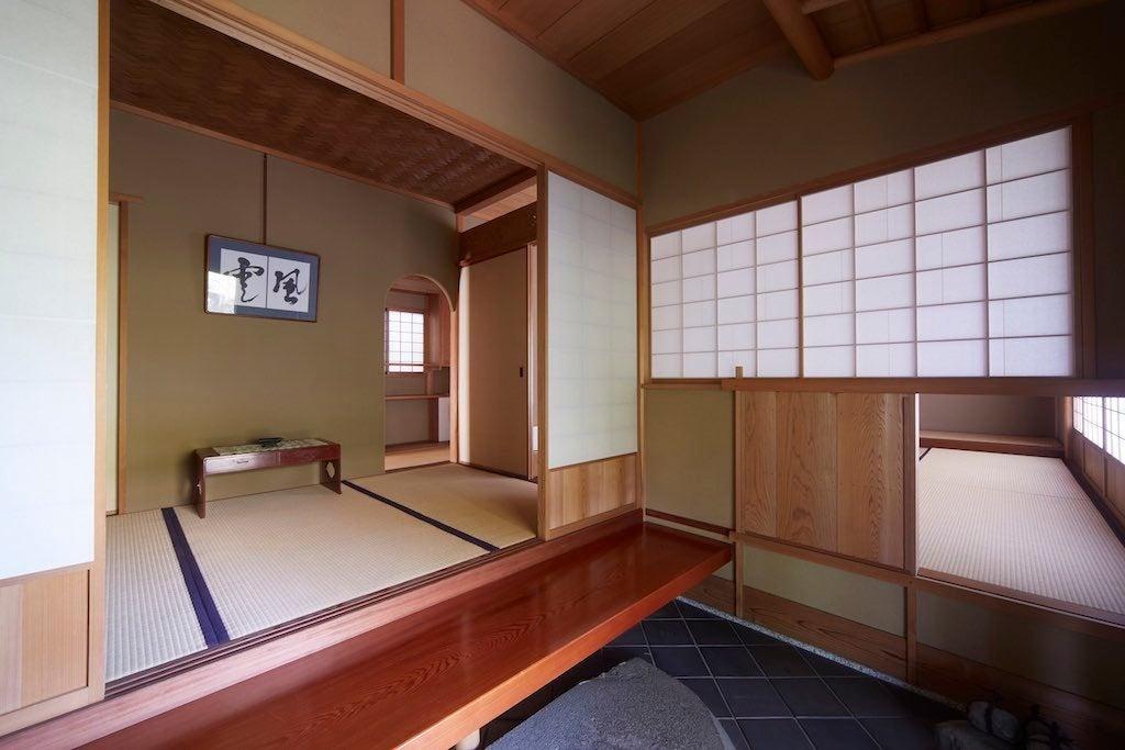 日吉駅からすぐ!本格的な和の空間!!素敵な庭付きの茶室です。習い事教室・お稽古・コスプレ撮影・会合・会議などに! の写真
