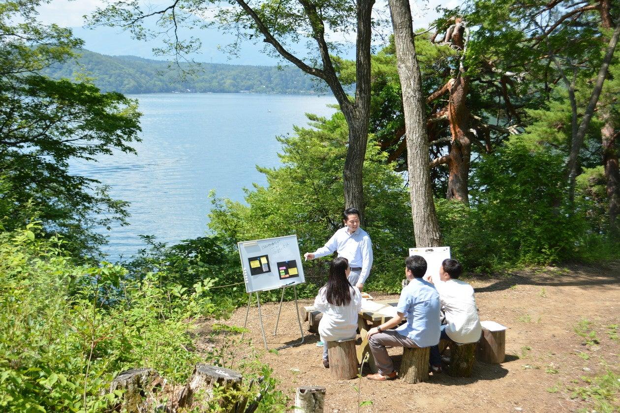 【北信州】野尻湖畔の『森』をお貸しいたします(野尻湖ホテル エルボスコ) の写真0