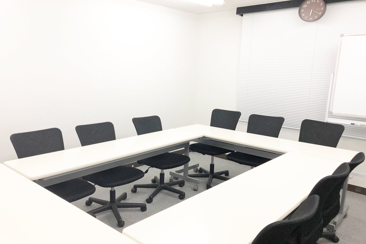 新宿 西新宿 駅近 格安貸会議室 着席12人 貸会議室 少人数で会議 オフ会など最適なスペース