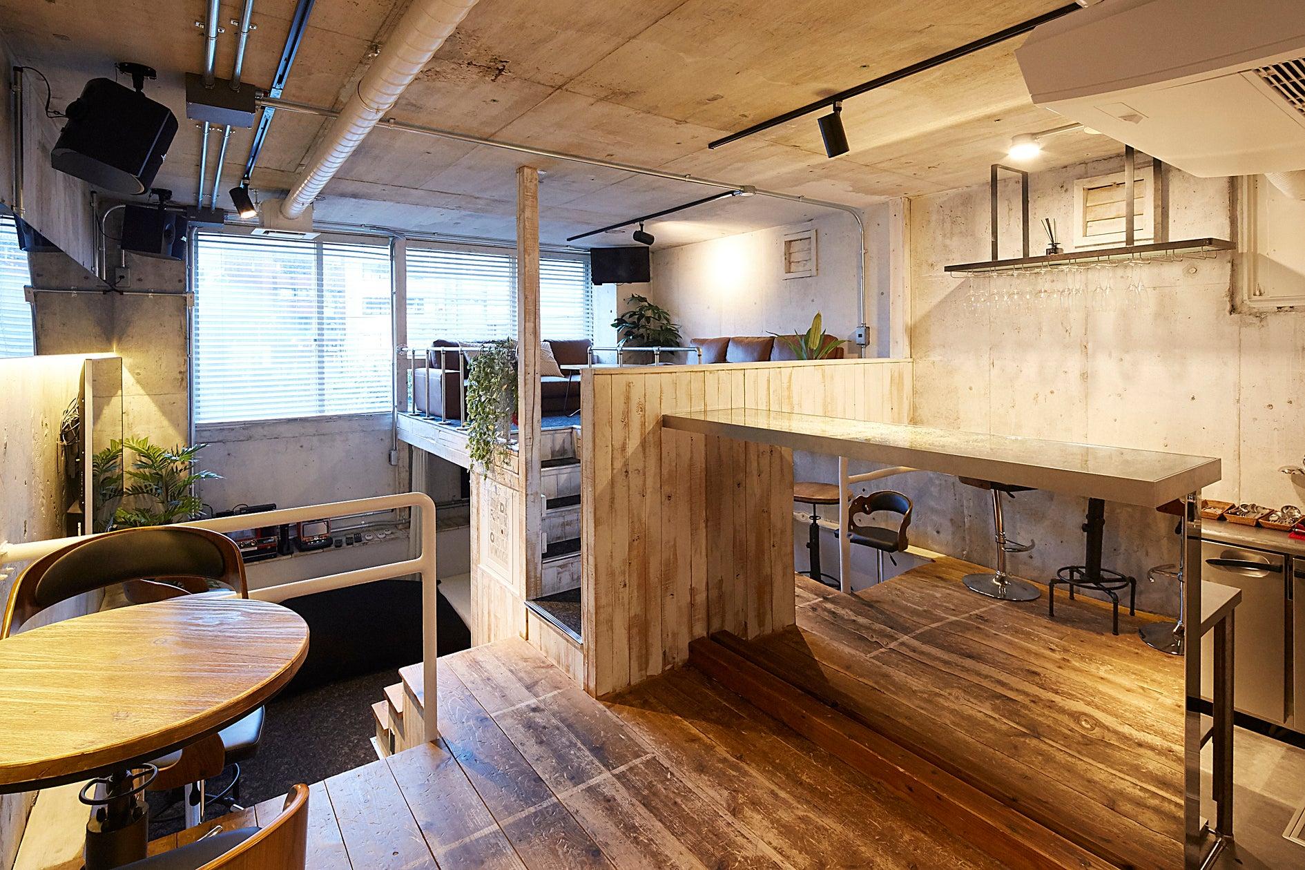 【六本木駅徒歩3分】Lounge-R ANNEX【キッチン付き隠れ家スペース】