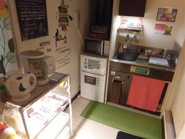 大阪城徒歩圏内・キッチン&調味料付きのダブルルーム のサムネイル