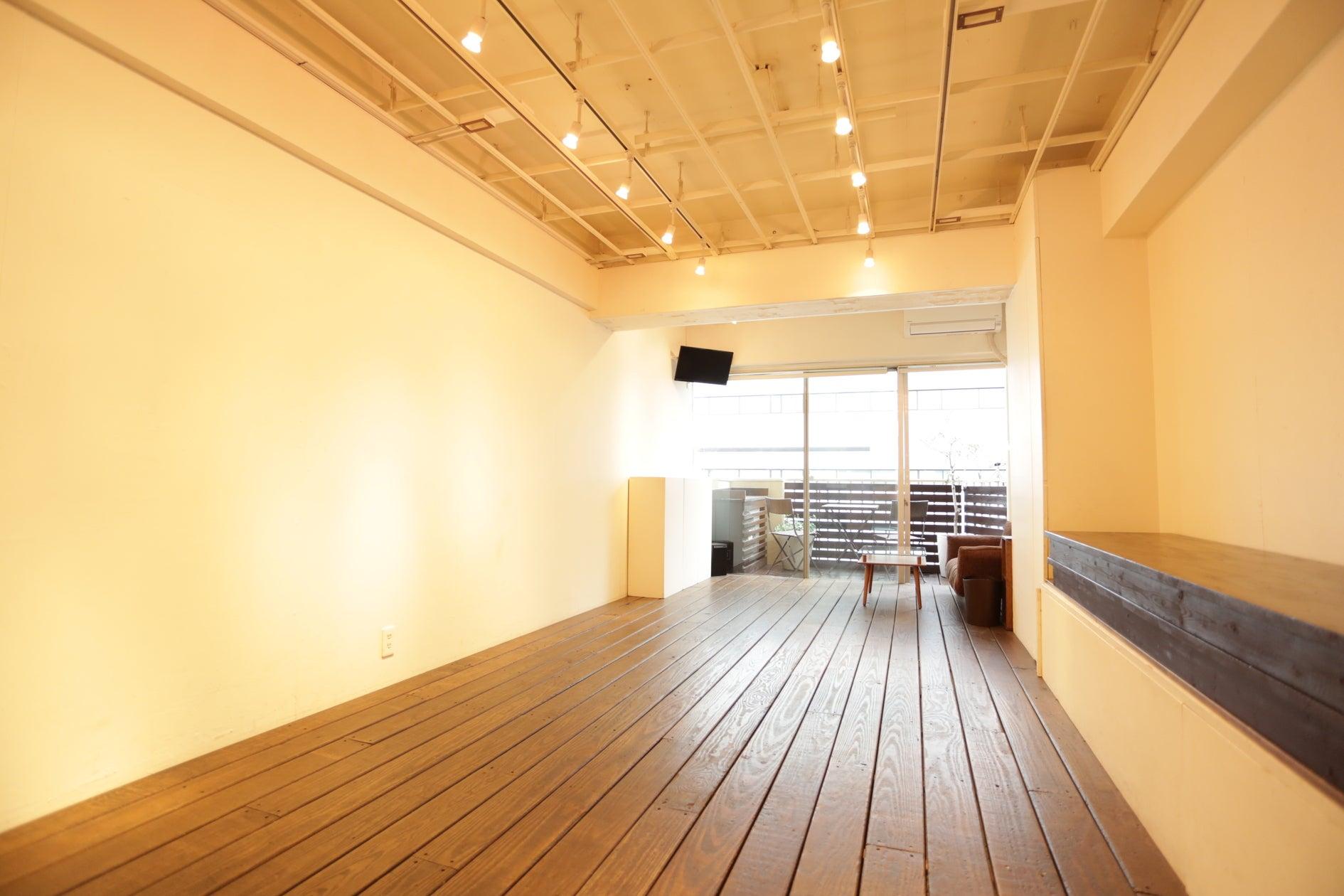 渋谷の静かな路地裏にある展示会・ワークショップ・会議に最適な自由空間です の写真