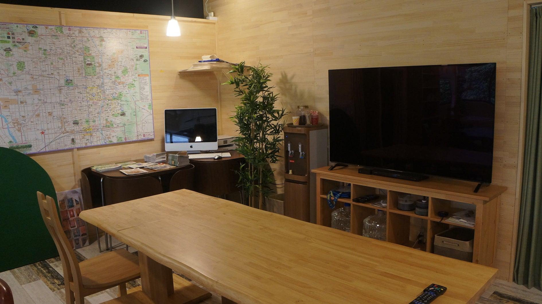 京都駅すぐ☆キッチン付きカフェをまるまる貸切☆最大40人利用可能 の写真