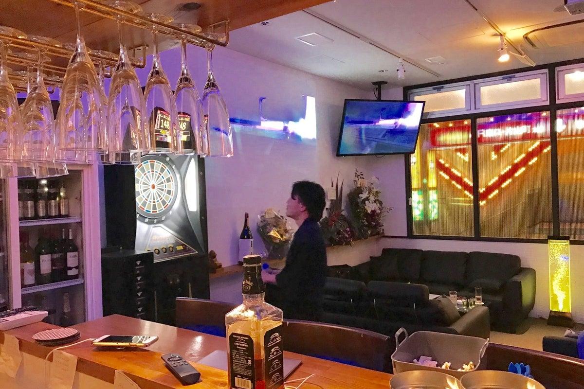 【JR大阪駅から3駅/吹田駅 直結】キッチン・プロジェクター・大型TV2台・ダーツ付 イベント・パーティーに! の写真