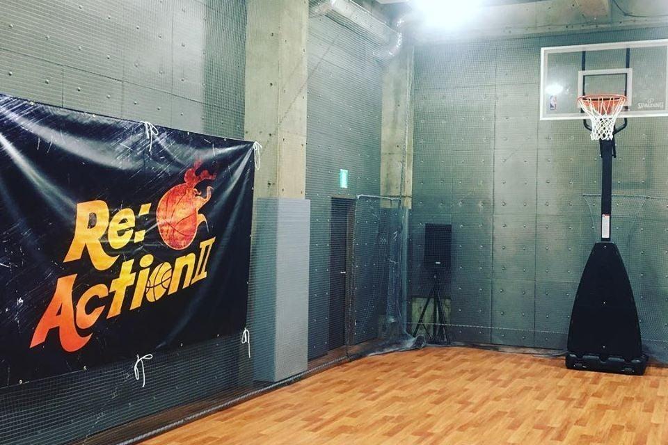 池袋から至近!練馬区氷川台のインドア地下スペース。バスケなどスポーツやイベント・撮影に♪冷暖房・シャワー完備! の写真