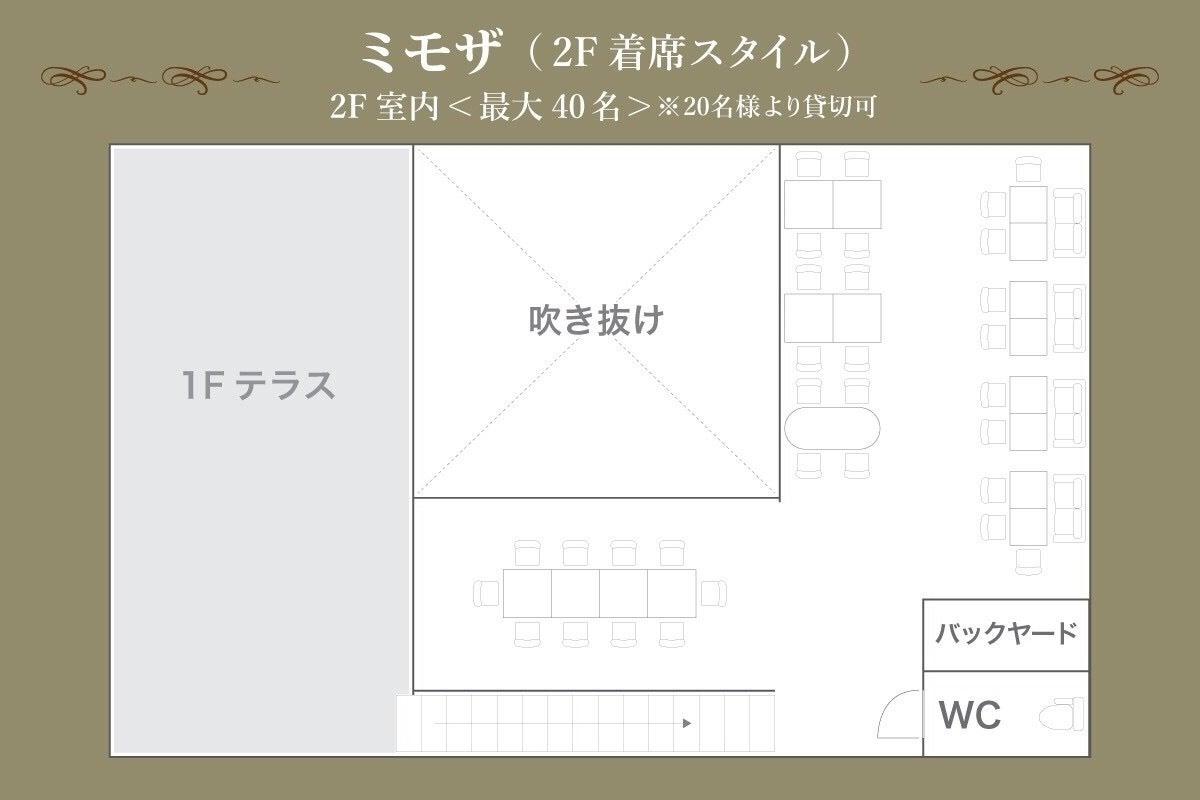 2階貸切 京橋駅5分 40名 隠れ家カフェ  会議 パーティー サロン 開催実績多数  の写真