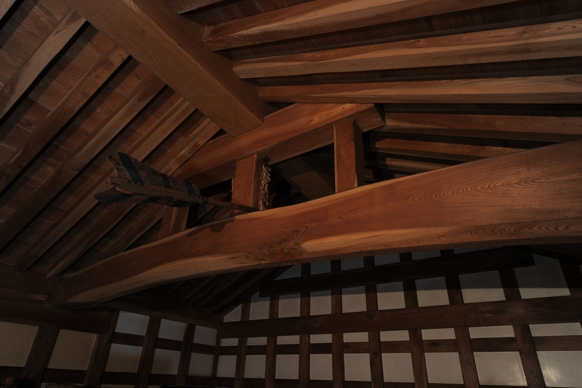 【秋田・湯沢市】約80年の歴史を持つ国登録有形文化財/山内家住宅 内蔵(文庫蔵) の写真