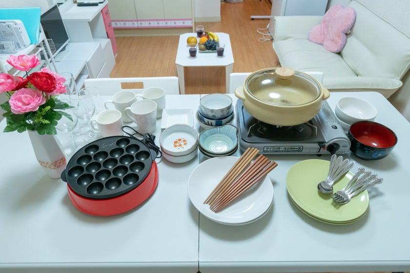 【関内・馬車道】ママ会/女子会/ホムパ向けスペース 調理器具充実 24時間利用可能(関内・馬車道パーティースペース) の写真0