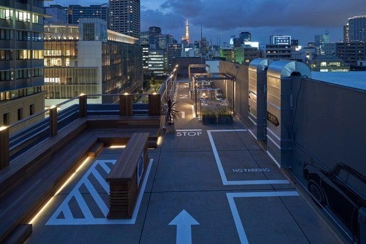 【田町・品川】倉庫ビルの屋上をリノベーションしたラウンジ空間 の写真