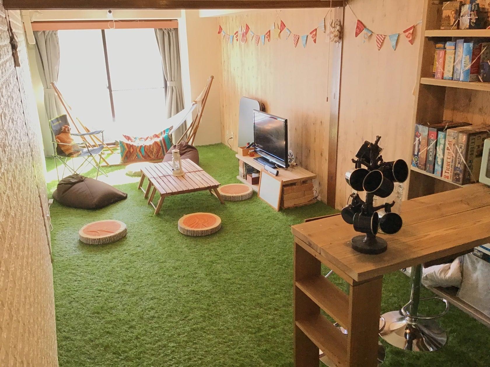 Chill City House 下北沢 芝生&ハンモックでおうちグランピング&ボードゲーム の写真