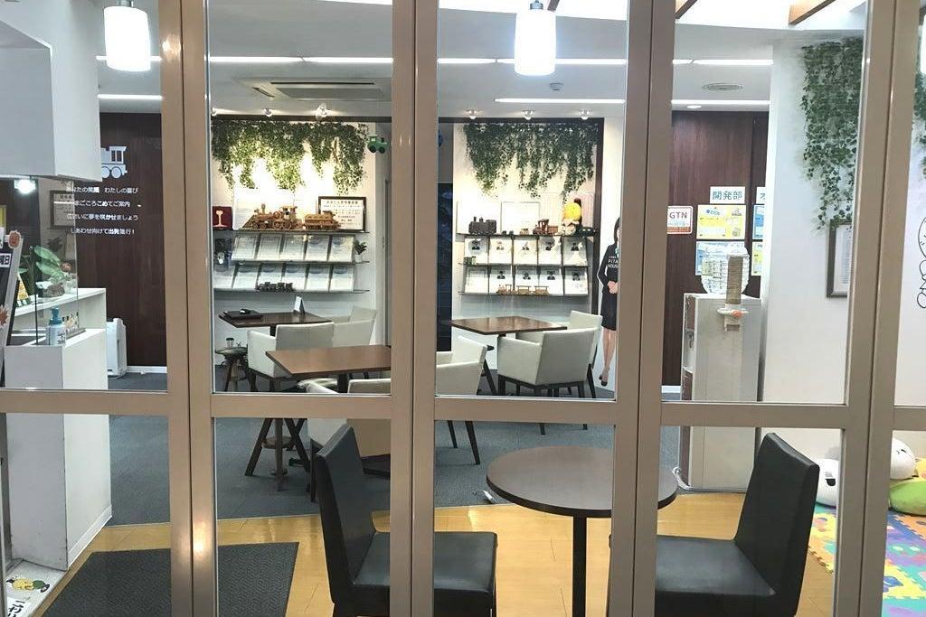《水曜日限定!9時~18時》青山地建1階店舗/研修や会議にオススメ♪★カフェ風の店舗内をご利用できます♪ の写真