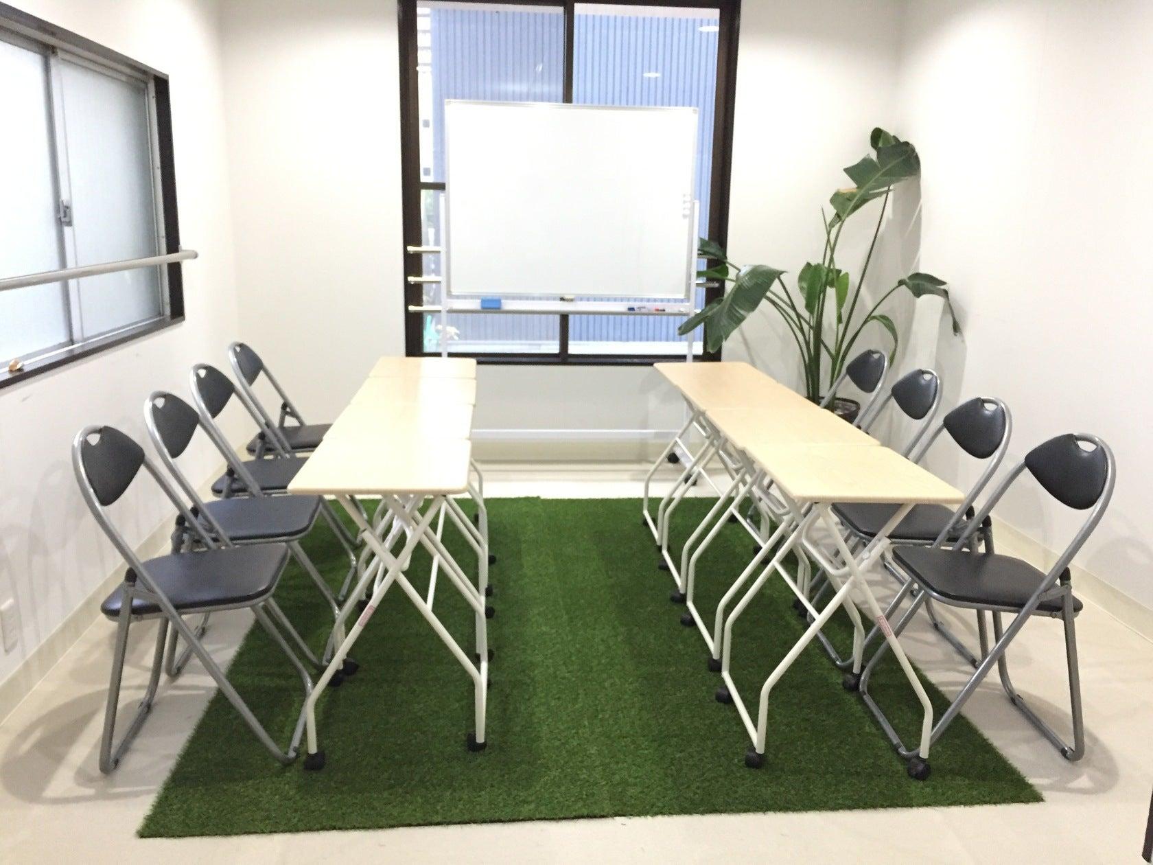 【久屋大通 徒歩5分】気分を変えて、芝生の上でミーティング。リラックスした空間で新しい発想が生まれるかも?会議・セミナー利用に。(レンタルスペース うてろ いるまーれ) の写真0