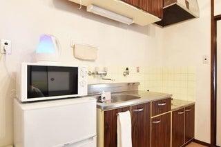 鶯谷駅徒歩2分の好立地のキッチン付きスペース。 の写真