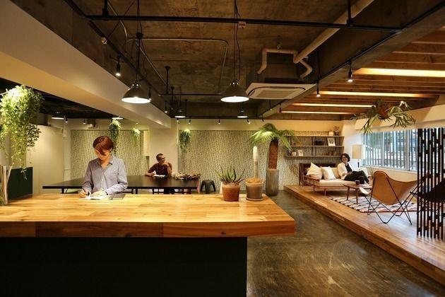 【品川】倉庫をリノベーションしたスタイリッシュ空間 の写真