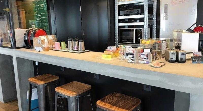 【10人用レンタルキッチン】(10名様まで)モルタル造りのカウンター付キッチンで素敵な教室を!ワークショップにもぴったり。