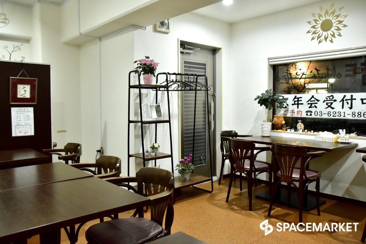 【篠崎駅から徒歩3分】静かで落ち着いた雰囲気のカフェ「はなや香」 パーティ・展示会・各種イベントに の写真
