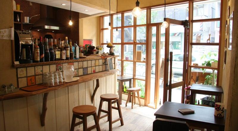 可愛い内装のカフェ♪ガスオーブン完備!中野駅や阿佐ヶ谷駅からはバスですぐ!