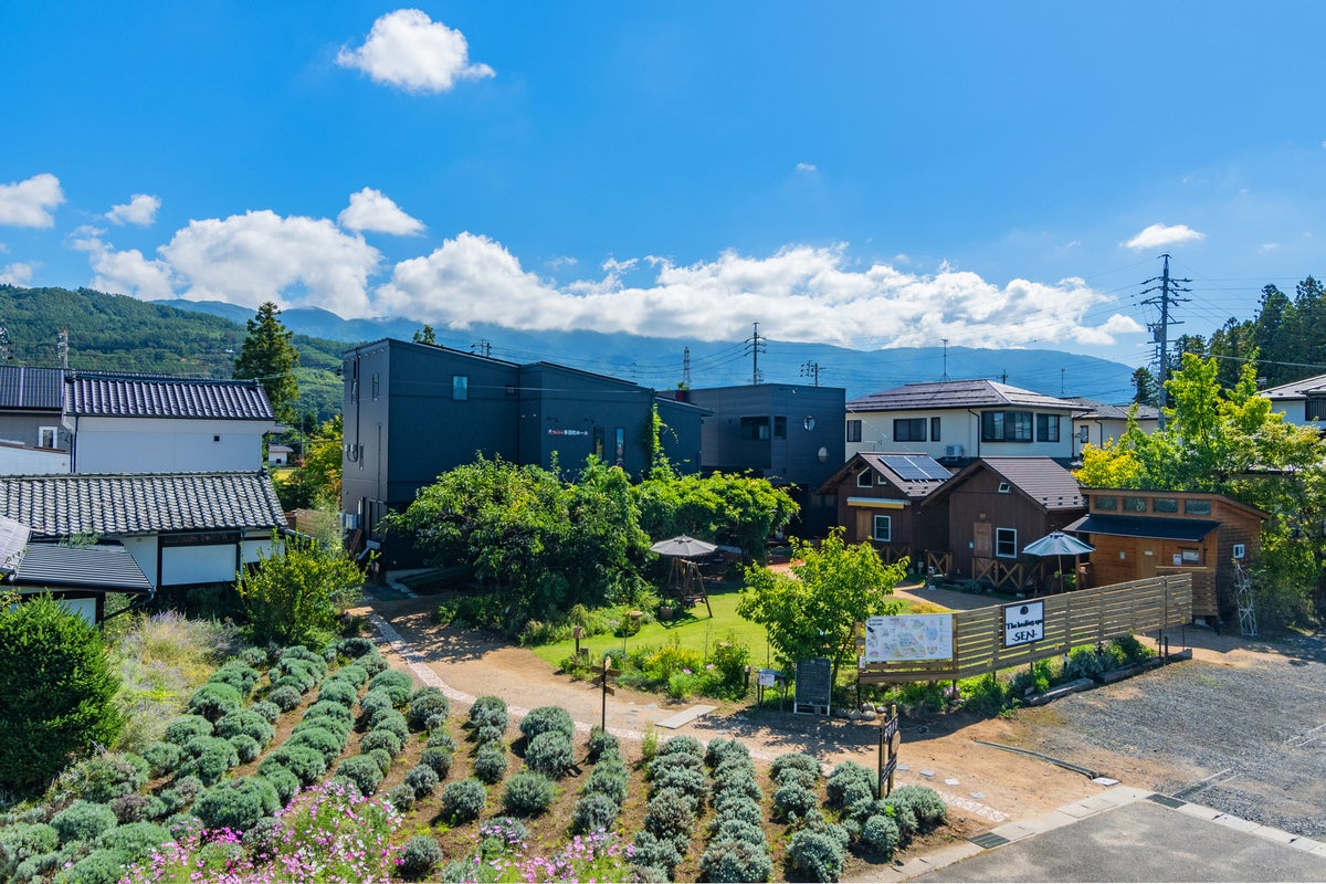 長野県民限定 ロフト付ログハウス の写真