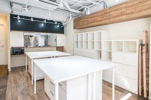料理教室スペース!料理アシスタント常駐。食器洗い・お茶だしなど講師サポートします。会議やママ会もOK の写真