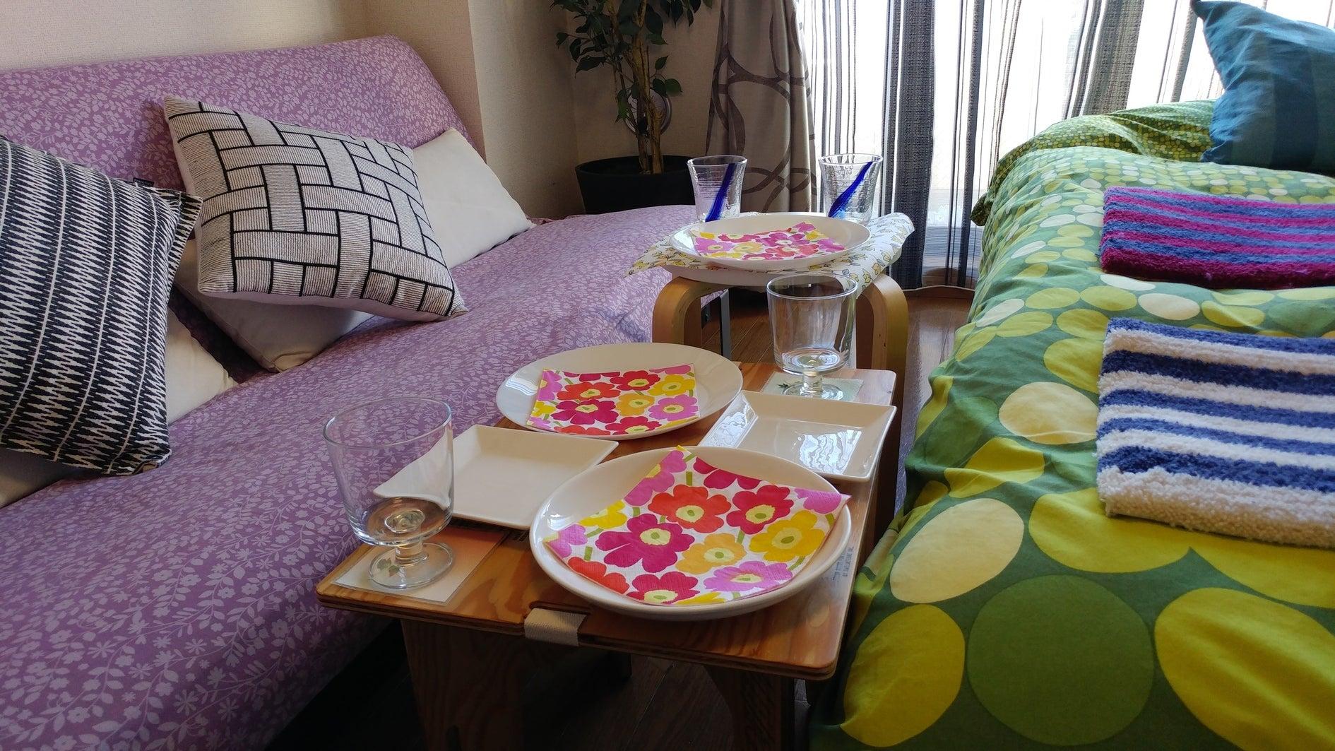 【下北沢駅歩3分】女子会・パジャマパーティー・部屋飲みに。24h可☆カップル向け