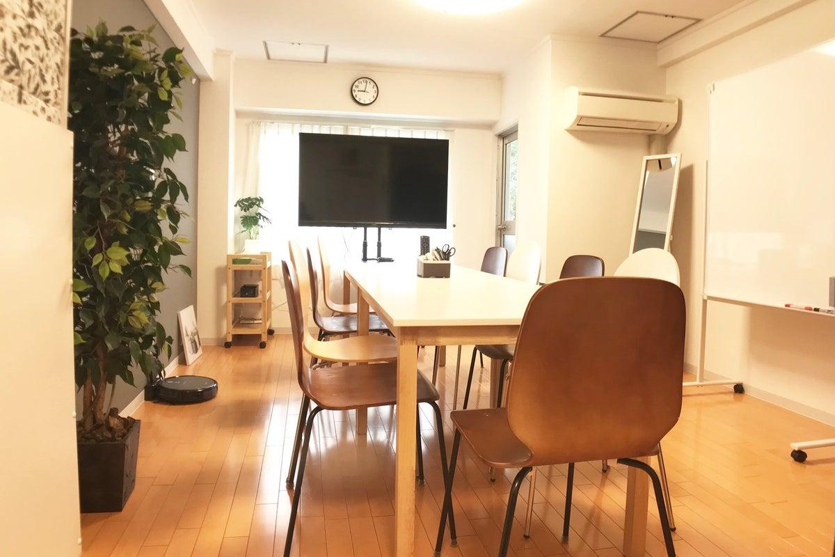 【楽らく会議室 東陽町】東陽町駅徒歩2分★定期的に清掃・除菌を実施中★換気扇と窓のある換気しやすい会議室です の写真