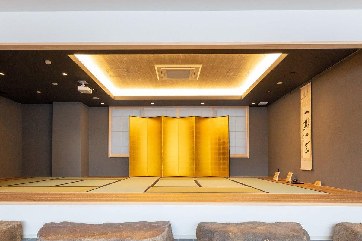 和室付きラウンジ イベントスペース 展示会や小規模イベントに の写真