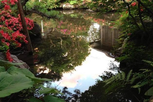 会津時代庭園 の写真