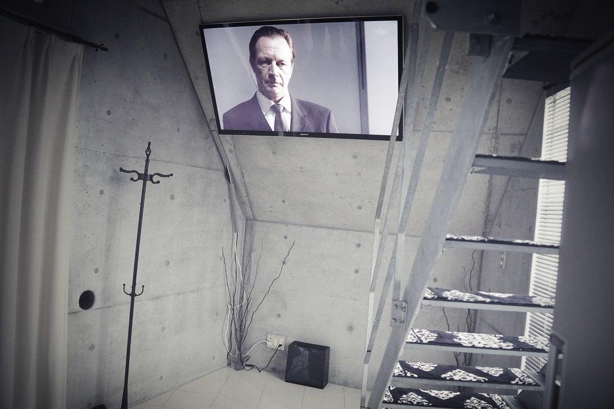 コンクリート打ちっぱなしの美しいデザイナーズな空間、最上階のモダンなVIPルーム。祐天寺駅徒歩1分 の写真