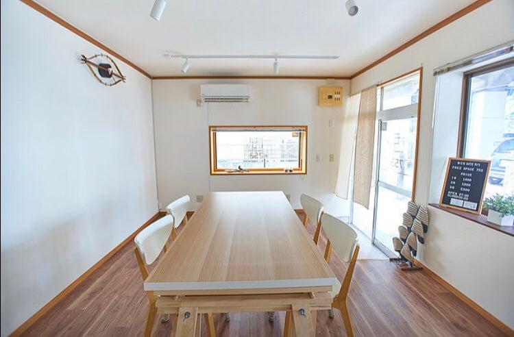 FreeSpace753、無料備品大充実!!白基調のお部屋です。