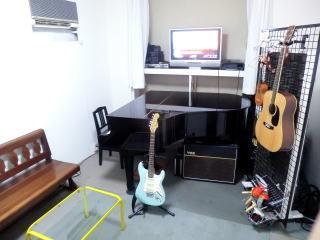 【本蓮沼駅徒歩5分】ピアノ、バンド演奏などに使える格安の都内音楽スタジオ(テラスタジオ) の写真0