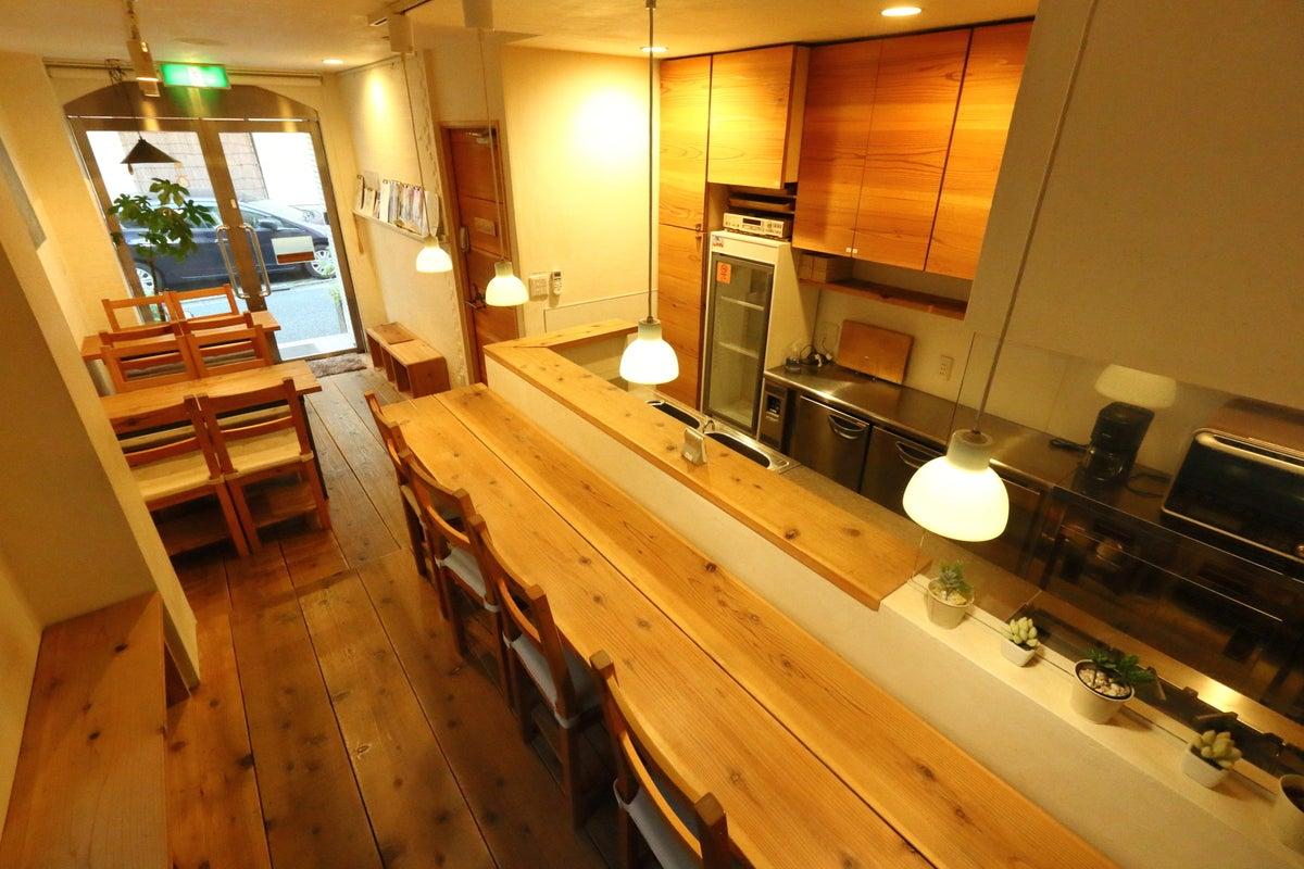 【大塚駅徒歩4分】本格プロ仕様厨房設備付きレンタルスペース!カフェ、パーティー、料理教室などに! の写真