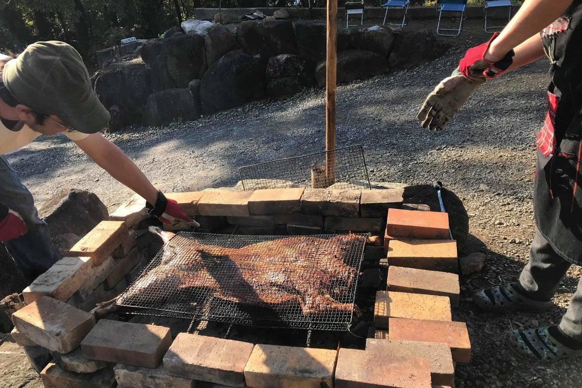 週末1組さま限定貸切‼️筑波山南麓のキッチン付スペース。ピザ窯利用できます。 大切な仲間との大切な時間をお楽しみください。 の写真
