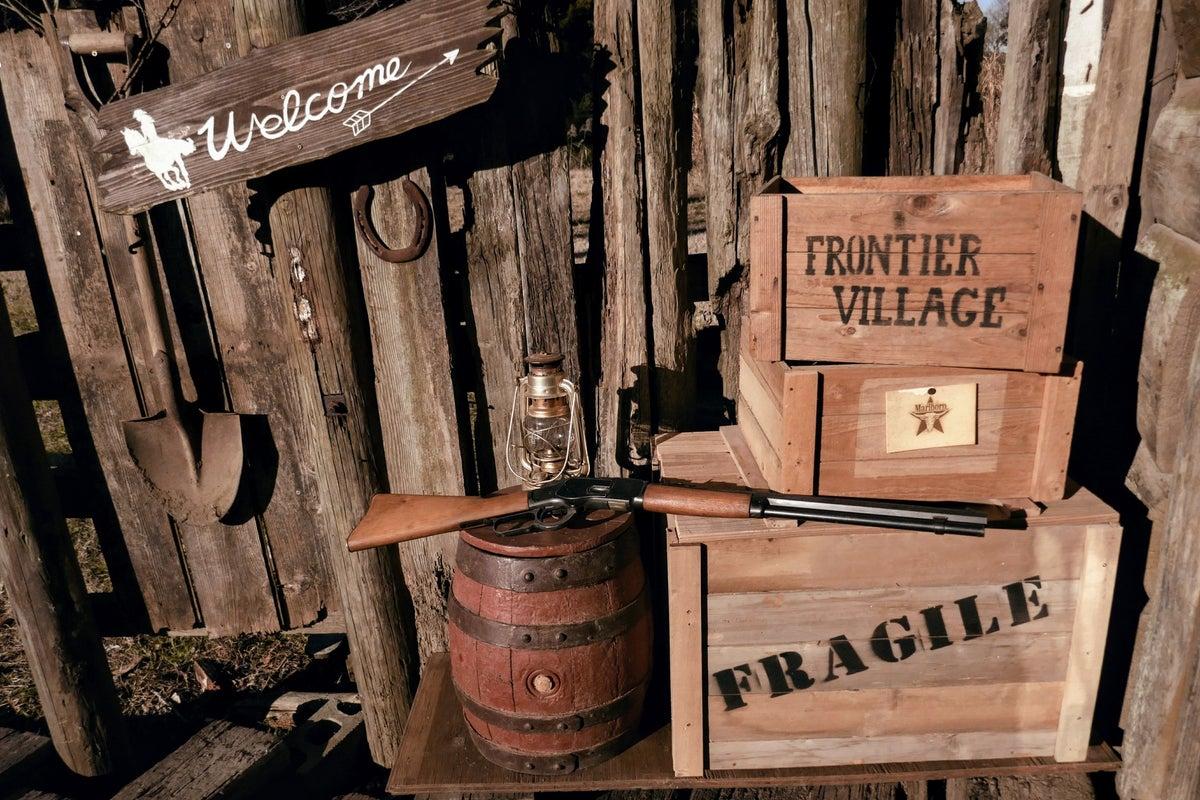 ウエスタンスタイルの牧場 反面貸し 各種様々なイベントに の写真